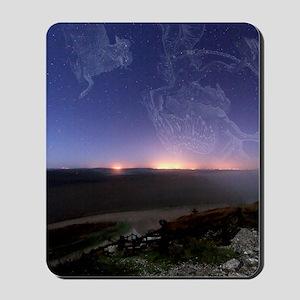 Night sky Mousepad