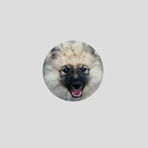 Keeshond Puppy Mini Button