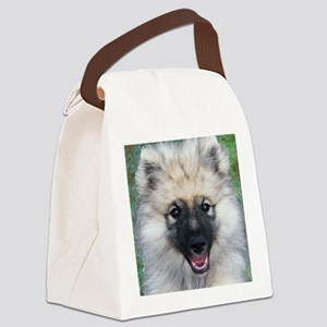 Keeshond Puppy Canvas Lunch Bag