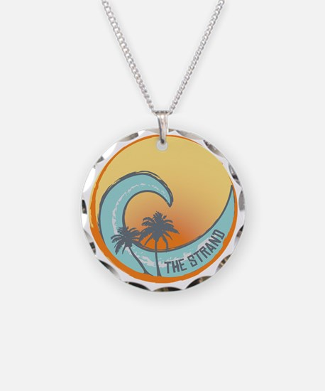 Silver Strand Sunset Crest Necklace