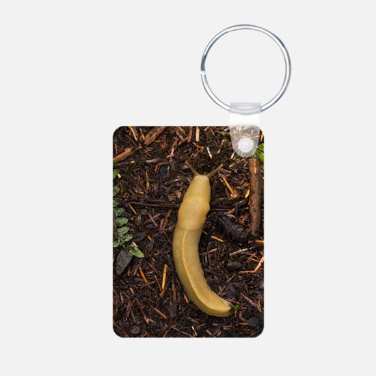 Pacific banana slug Keychains