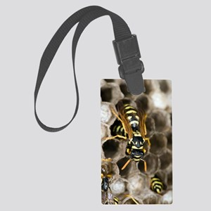 Paper Wasp Large Luggage Tag