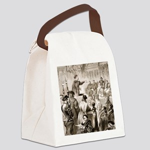 Paracelsus and the Basel tribunal Canvas Lunch Bag