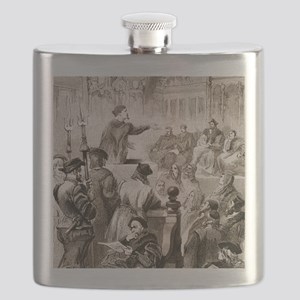 Paracelsus and the Basel tribunal Flask