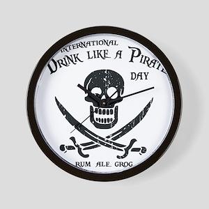drink-pirate-LTT Wall Clock