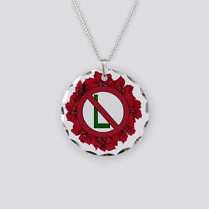 N0-L Necklace Circle Charm
