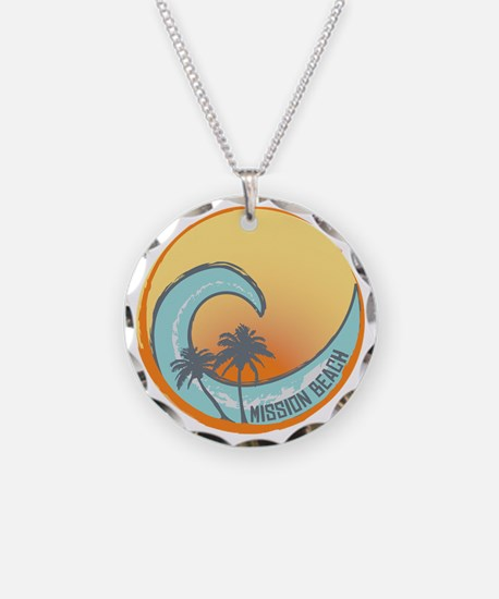 Mission Beach Sunset Crest Necklace