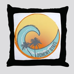 Doheny State Sunset Crest Throw Pillow