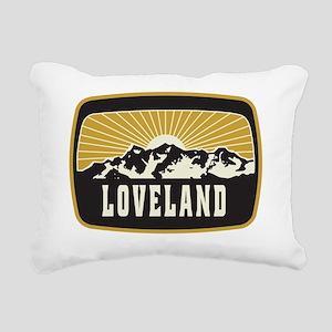 Loveland Sunshine Patch Rectangular Canvas Pillow