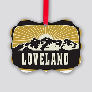 Loveland Sunshine Patch Picture Ornament