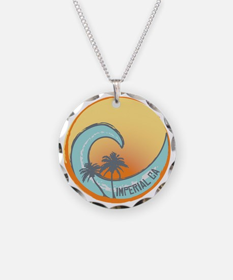Imperial Beach Sunset Crest Necklace