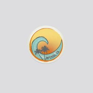 Imperial Beach Sunset Crest Mini Button