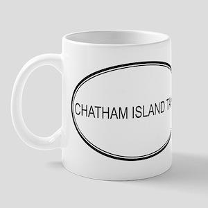 Oval Design: CHATHAM ISLAND T Mug
