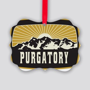 Purgatory Sunshine Patch Picture Ornament