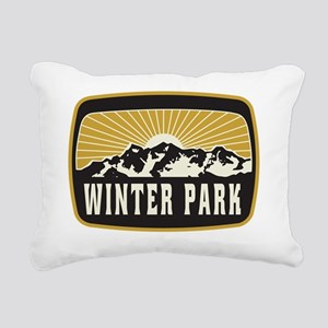 Winter Park Sunshine Pat Rectangular Canvas Pillow