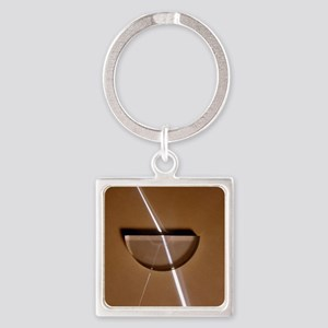 Refraction Square Keychain