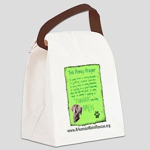 Ponsy Prayer Canvas Lunch Bag