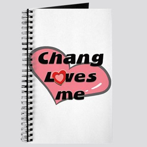 chang loves me Journal