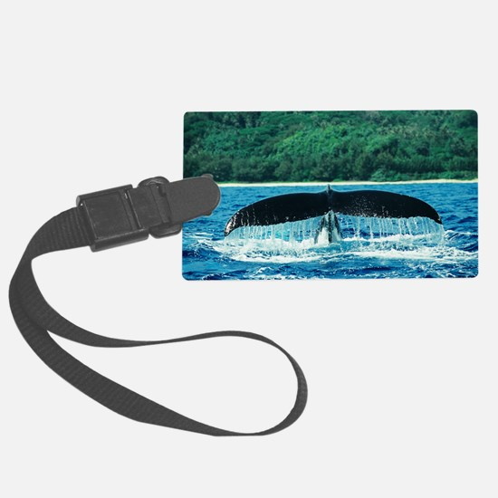 Humpback whale's tail Luggage Tag