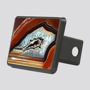 Slice of agate Rectangular Hitch Cover