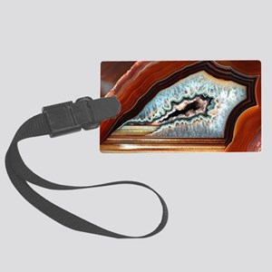 Slice of agate Large Luggage Tag
