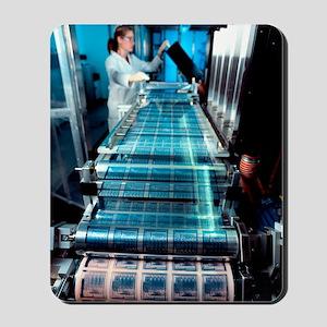 Intelligent label chip manufacture Mousepad