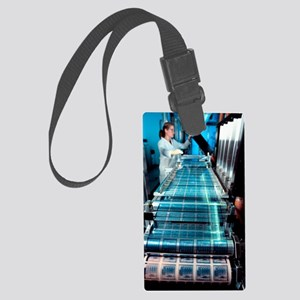 Intelligent label chip manufactu Large Luggage Tag
