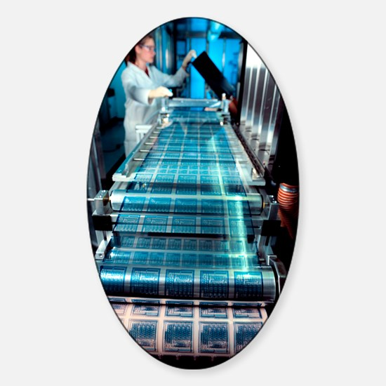 Intelligent label chip manufacture Sticker (Oval)