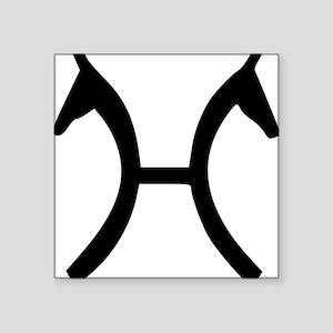 "Hanoverian Verband Square Sticker 3"" x 3"""