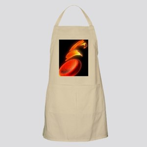Sickle cell anaemia, artwork Apron