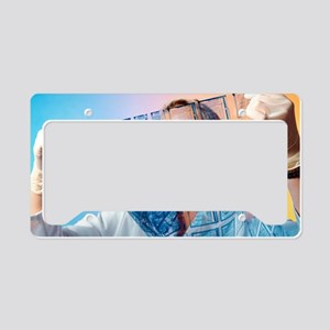 Intelligent label chip manufa License Plate Holder