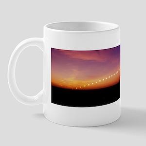 Time-lapse image of a suntrail Mug