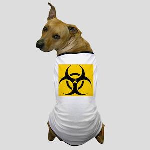 International biohazard symbol Dog T-Shirt