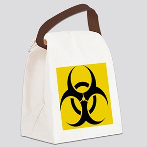 International biohazard symbol Canvas Lunch Bag