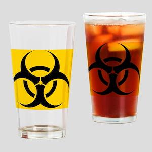 International biohazard symbol Drinking Glass