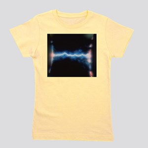 Illustration of an electrical discharge Girl's Tee