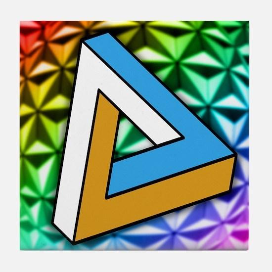 Impossible shape Tile Coaster