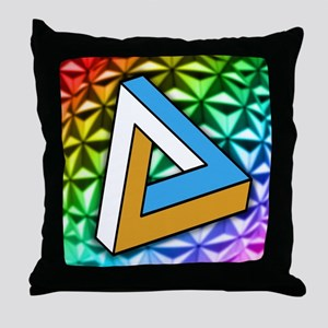 Impossible shape Throw Pillow