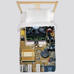 Internal parts of a personal computer Twin Duvet
