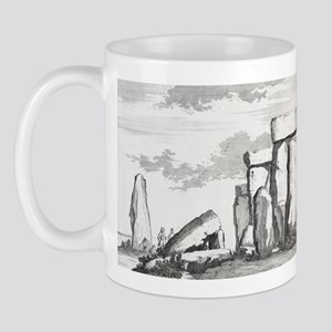 Stonehenge, 17th century artwork Mug