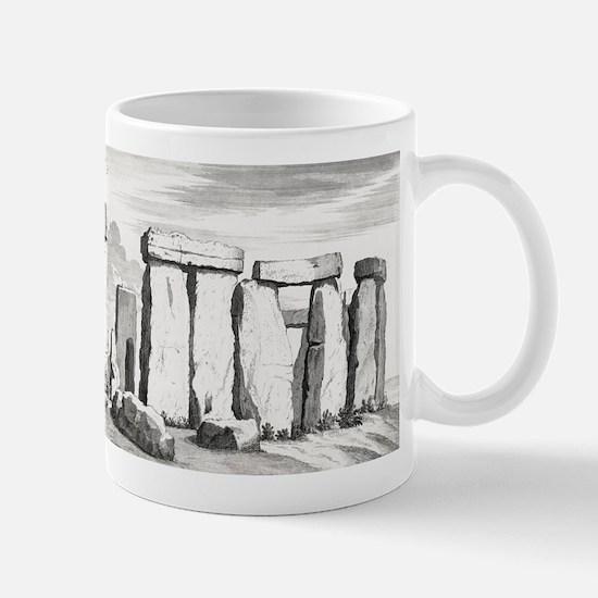 Stonehenge, 17th century artwork Mug