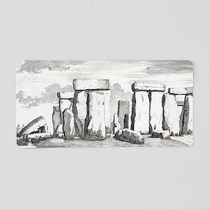 Stonehenge, 17th century ar Aluminum License Plate