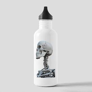 Skeleton's head, artwo Stainless Water Bottle 1.0L