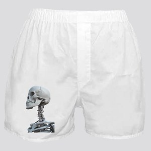 Skeleton's head, artwork Boxer Shorts