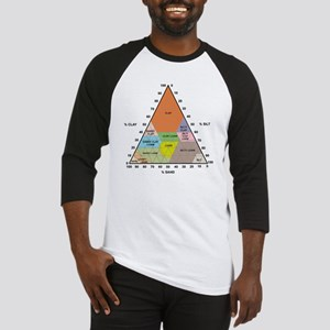 Soil triangle diagram Baseball Jersey