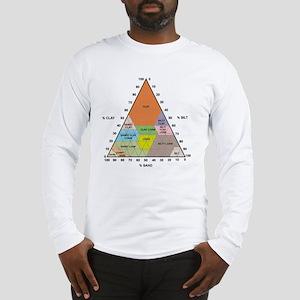 Soil triangle diagram Long Sleeve T-Shirt