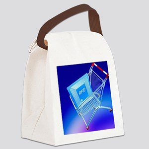Intelligent label Canvas Lunch Bag