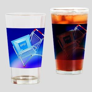 Intelligent label Drinking Glass