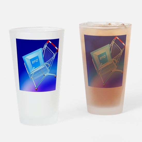 Intelligent label Drinking Glass