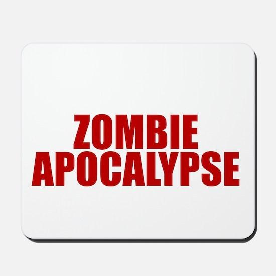 Exciting zombie apocalypse Mousepad